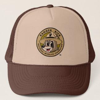 Hooimijt | van de boswachter het Logo van de Trucker Pet