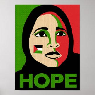 Hoop voor Palestina Poster
