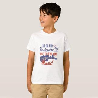 Hoor de Muziek van Nashville van de T-shirt van