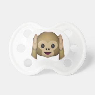 Hoor Geen Kwade Aap - Emoji Baby Speentje