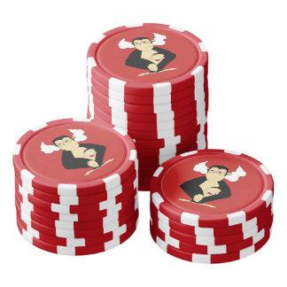 Hoor Geen Kwade Spaanders van de Pook Pokerchips