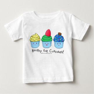 hoorayforcupcakesboy baby t shirts