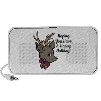 Hopend hebt u een Gelukkige Vakantie! iPod Speaker
