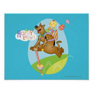 Hoppy Pasen Poster
