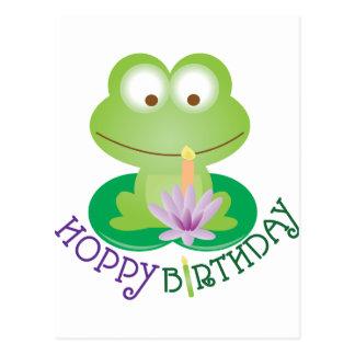 Hoppy Verjaardag Briefkaart