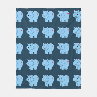 Horatio Hippo - Kind Fleece Deken