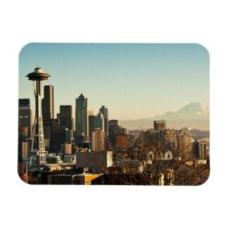 Horizon de van de binnenstad van Seattle en Ruimte Magneet