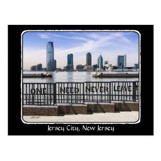 Horizon Één van de Stad van Jersey vergt nooit de Briefkaart