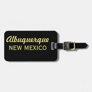 Horizon-SG van Albuquerque New Mexico Kofferlabel