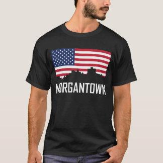 Horizon van de van West- morgantown de Amerikaanse T Shirt