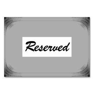"Horizontale 3.5"" x 5"" Tablecard Reverved Kaart"