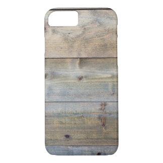 Horizontale versleten plankmuur iPhone 7 hoesje