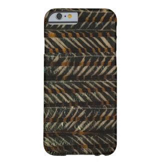 Horizontale zwart & Goud Barely There iPhone 6 Hoesje