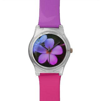 Horloge Flower Power