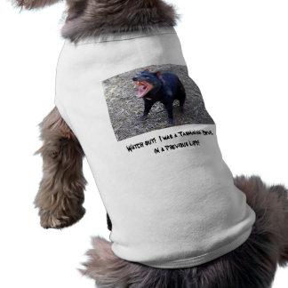 Horloge uit!  Ik was een Tasmaanse Duivel T-shirt