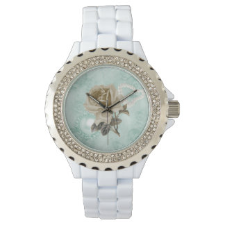 Horloge van de Bergkristallen van de Rozen van het