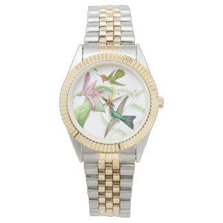 Horloge van de Bloemen van het Wild van de Vogels