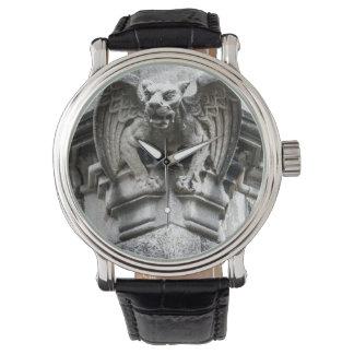 Horloge van de Vintage Riem van het Leer van de