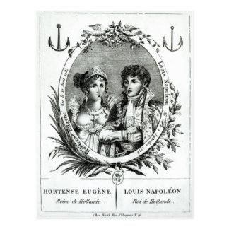 Hortense de Beauharnais Briefkaart