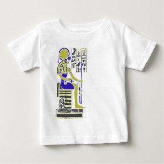 Horus de Havik Egyption Heiroglyph Baby T Shirts