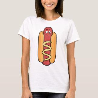 Hotdog Emoji T Shirt