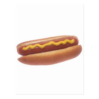Hotdog met Mosterd Briefkaart