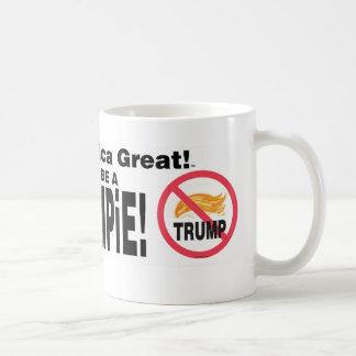 Houd Amerika Groot! Ben geen TRUMPiE! drinkware Koffiemok
