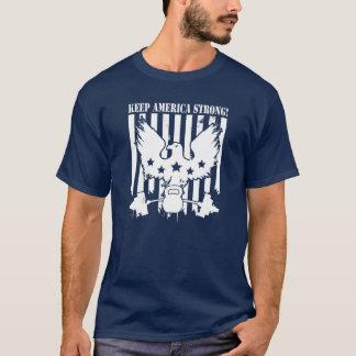Houd Amerika Sterk T Shirt
