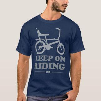 Houd bij het Berijden - de T-shirt van de Fiets