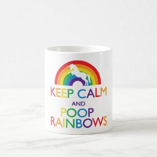 Houd de Eenhoorn van de Kalme en Regenbogen van Koffiemok