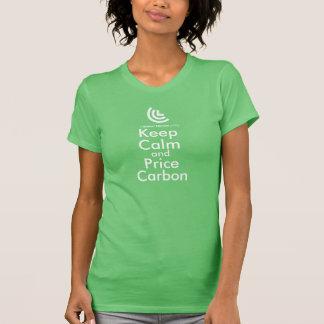 Houd (de Groene) T-shirt van de Dames van de Kalme