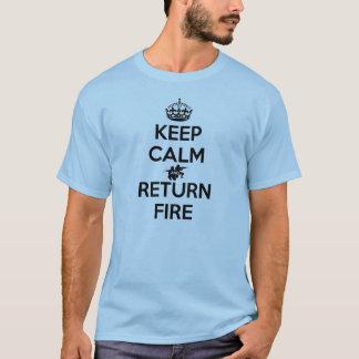 Houd de Kalme en Brand van de Terugkeer T Shirt