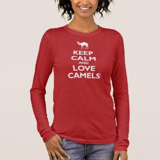 Houd de Kalme en Kamelen van de Liefde T Shirts