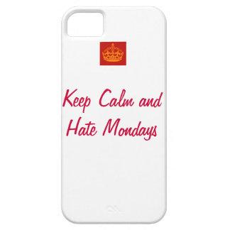 Houd de Kalme en Maandagen van de Haat Barely There iPhone 5 Hoesje