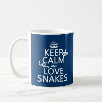 Houd de Kalme en Slangen van de Liefde (alle Koffiemok