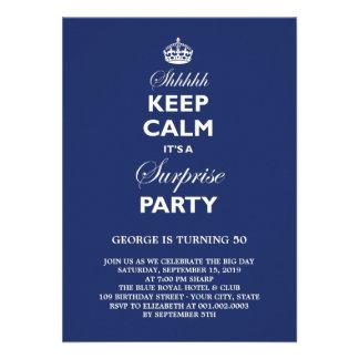 Houd de Kalme Grappige Partij van de Verjaardag va