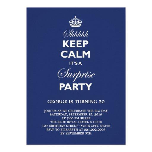 Houd de Kalme Grappige Partij van de Verjaardag va Persoonlijke Aankondigingen