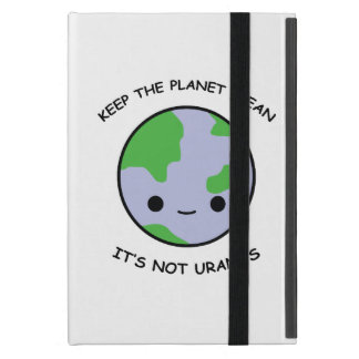 Houd de planeetbrandkast iPad mini hoesje