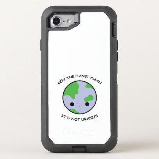 Houd de planeetbrandkast OtterBox defender iPhone 8/7 hoesje