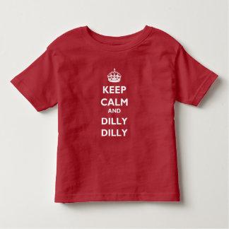 Houd de T-shirt van Jersey van de Kalme en Peuter
