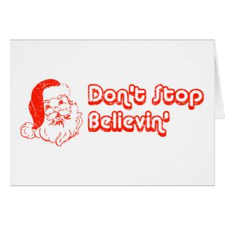 Houd geen Believin tegen Briefkaarten 0