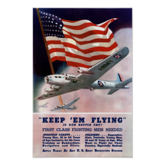 Houd hen vliegend -- De Korpsen van de Lucht van Poster