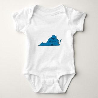 Houd het Blauw van Virginia! Romper