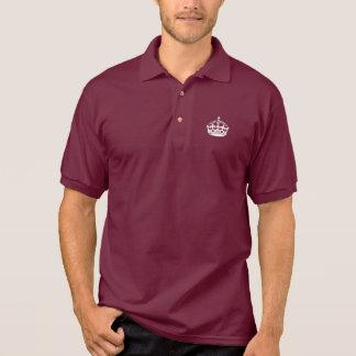 Houd het Kalme Overhemd van het Polo met kroon