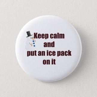 Houd het Kalme Pak van het Ijs van het Gebruik Ronde Button 5,7 Cm
