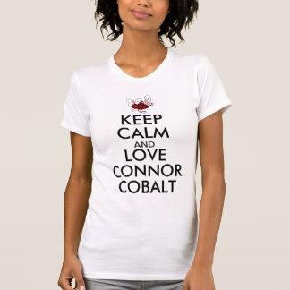 Houd het Kobalt van Kalme en Connor van de Liefde T Shirt
