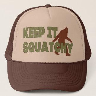 Houd het Squatchy Trucker Pet