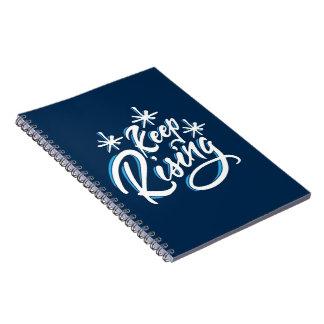 Houd het Toenemen notitieboekje Notitieboek
