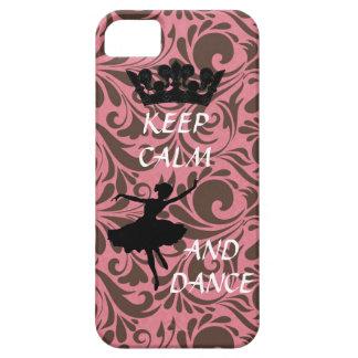 houd iphone 5 van de kalme en dansballerina geval iPhone 5 covers