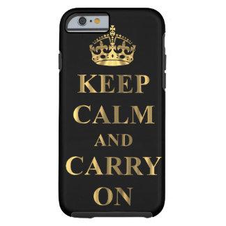Houd kalm & draag tough iPhone 6 hoesje